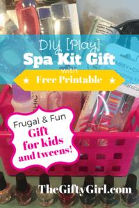 DIY [Play] Spa Kit Gift
