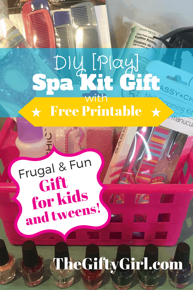 Play Spa Kit: Gift for kids and tweens!