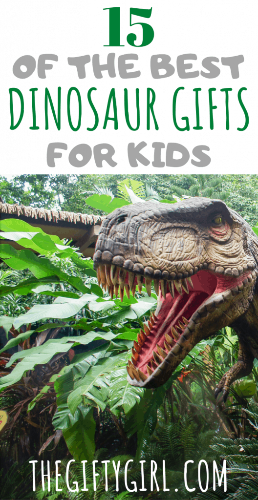 15 Unique Dinosaur Gift Ideas for Kids. A mom of three dino obsessed boys shares their family's favorite dinosaur gift ideas.