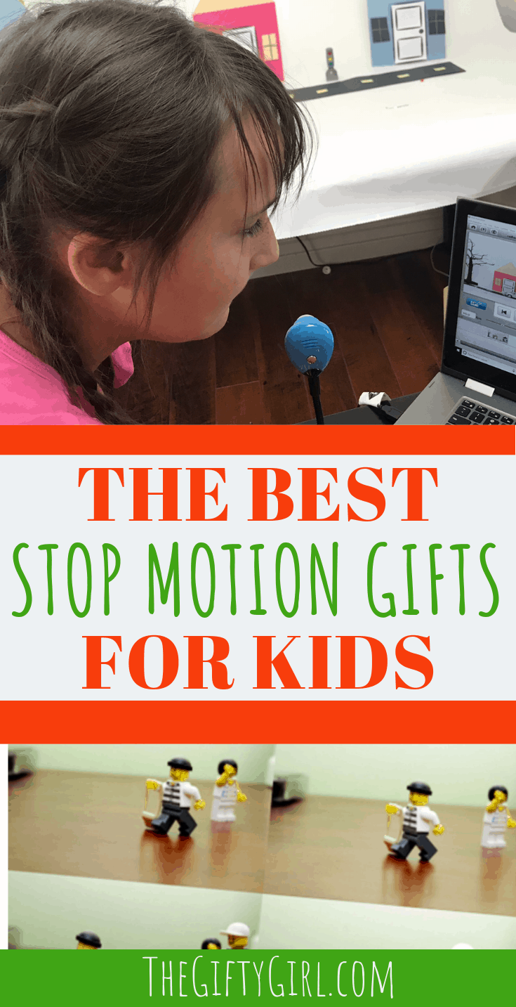 Stop Motion is a super fun hobby that kids, tweens and teens will love! If you are looking for a gift that inspires creativity and hours of fun check out these stop motion gift ideas. #thegiftygirl #stopmotion #stopmotiongifts #giftideasforkids #giftideasfortweens #giftideasforteens #creativegifts #creativegiftideas #uniquegiftideas #moviemaker #animation #animationgifts