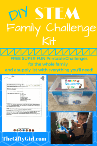 DIY STEM Family Challenge Kit