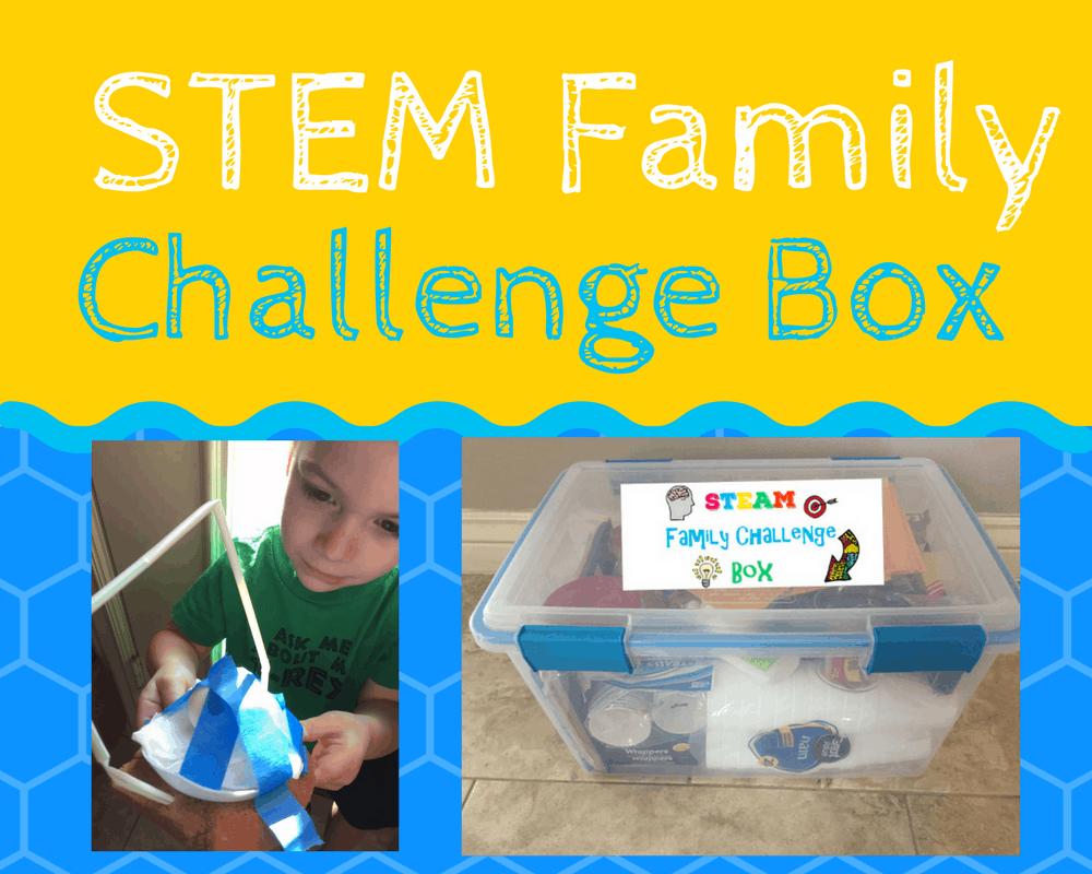 STEM Gift: Family CHallenge Box
