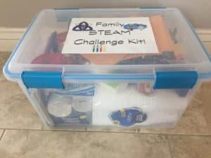 STEM Gift: STEM STEAM Family Challenge box