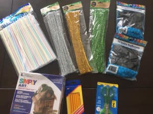 STEM Gift: STEM STEAM Family Challenge box Supplies 6
