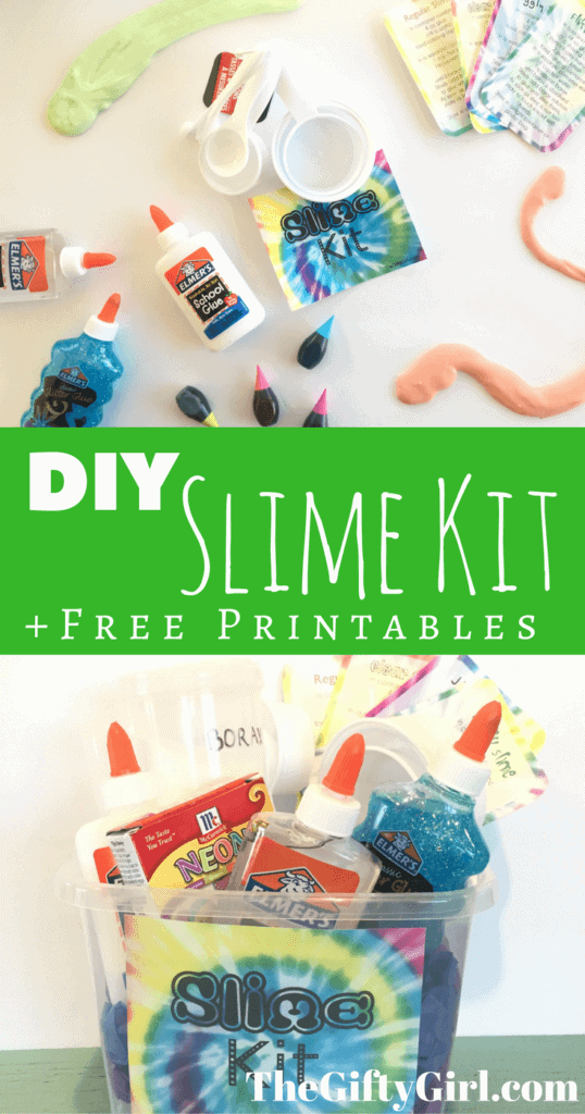 DIY Slime Kit Gift for kids, tweens or teens