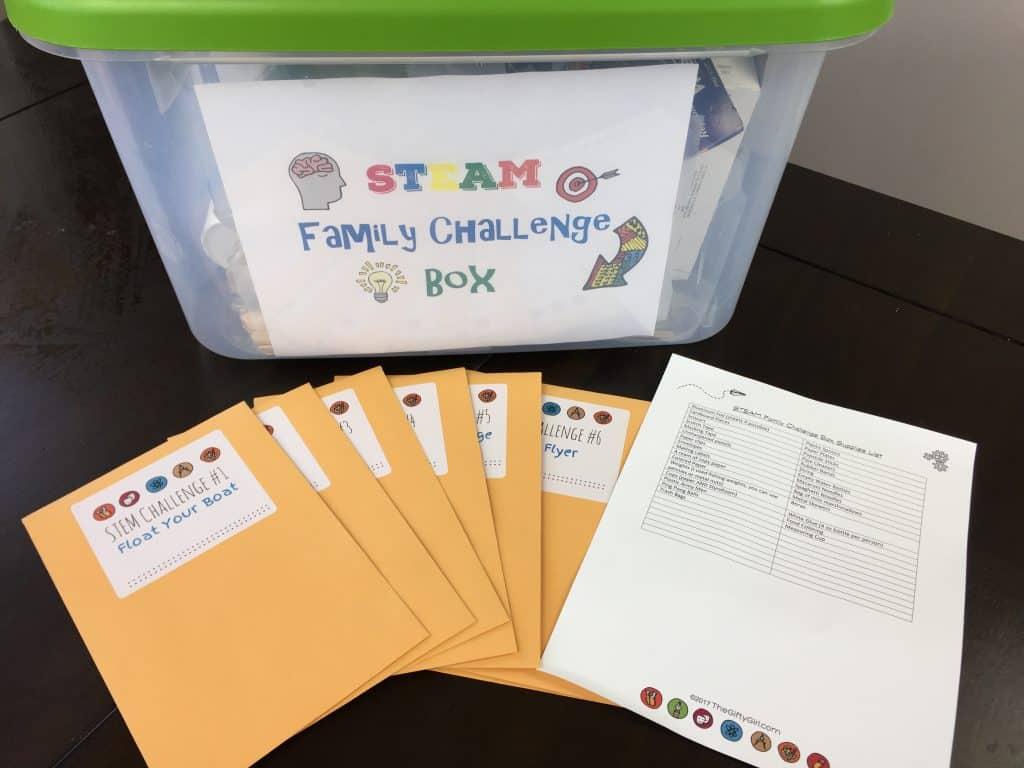 DIY Inexpensive STEM Challenge Kit