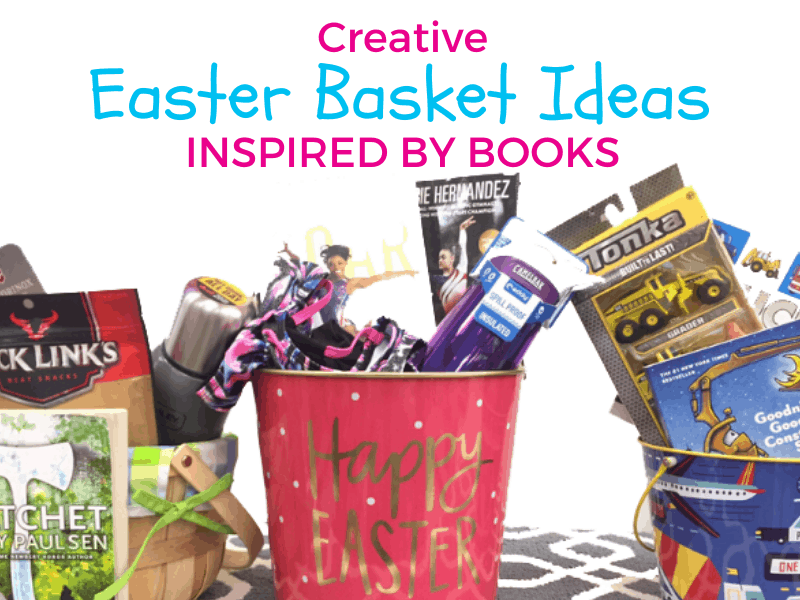 creative easter basket ideas inspired by books