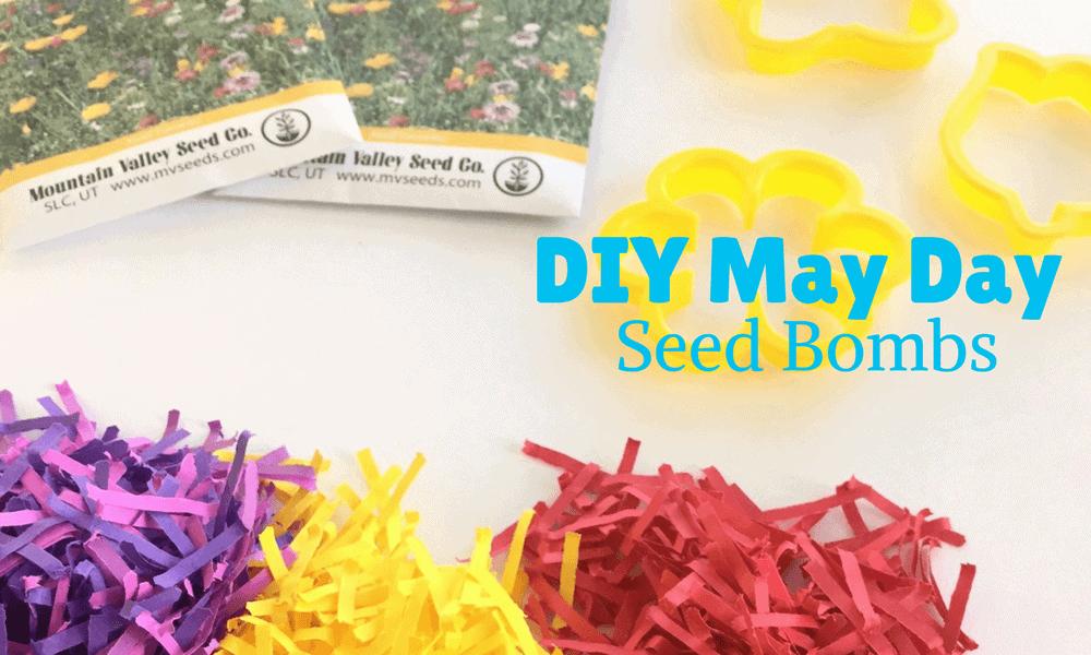 DIY May Day Gift seed bombs DIY Seed bombs