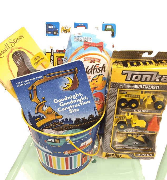 Car Easter Basket for Toddler