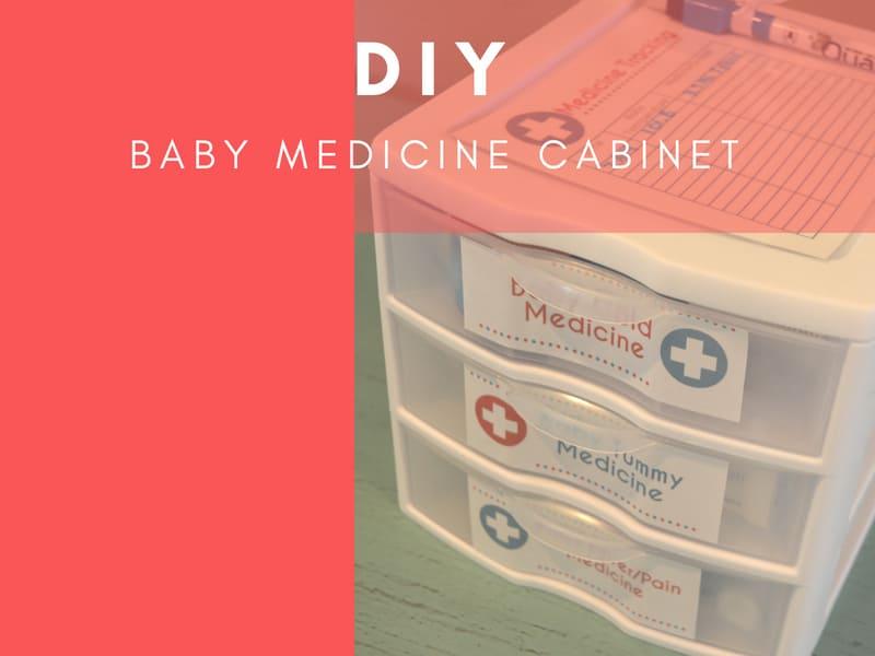 DIY Baby Medicine Kit Gift