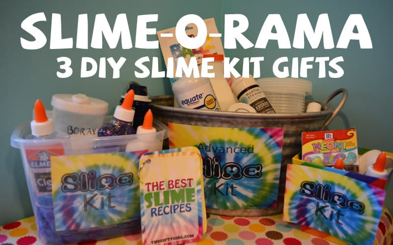 SLIME-O-RAMA! Three of the best DIY Slime Kits for gifts ~ The ...