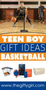 teen boy gift ideas for basketball players