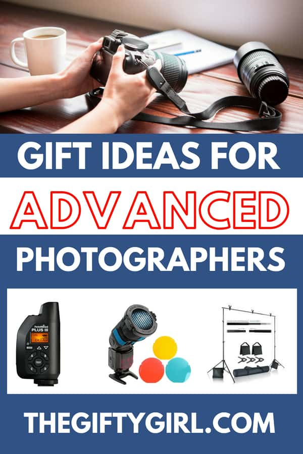 If an advanced hobby photographer is on your list...here are some gift ideas that they will love! #christmasgift #giftideas #photographer #advancedphotography #giftguide #photographygiftguide #giftsforhim #giftsforher