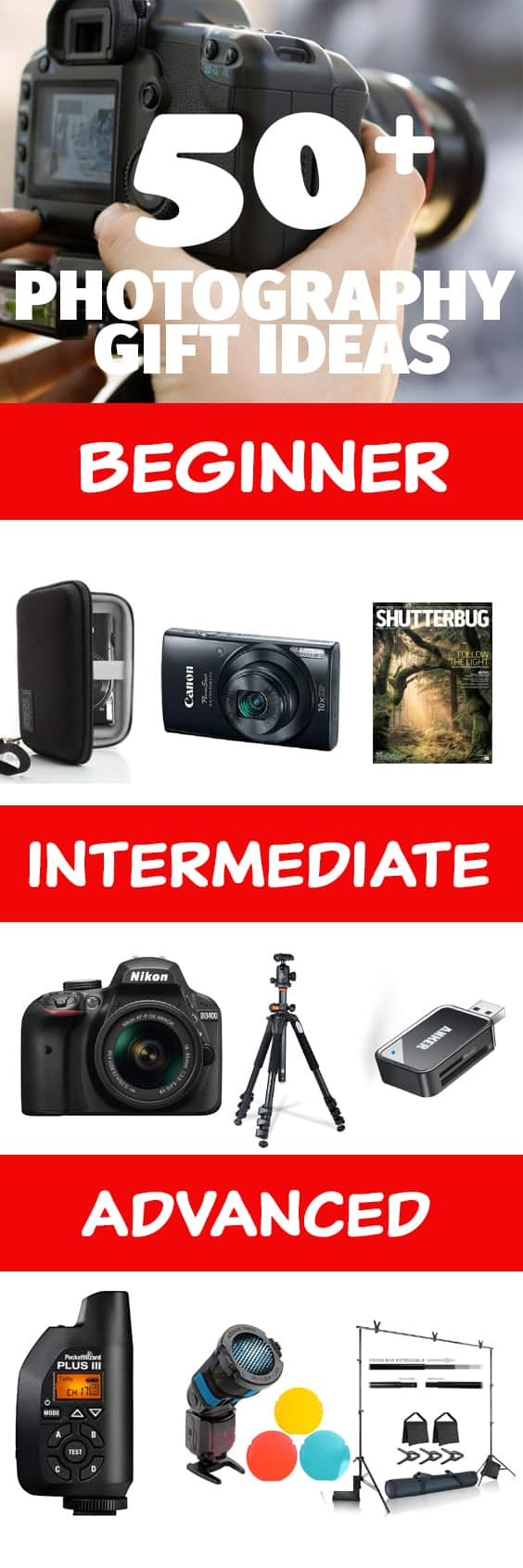 Intermediate Photographer Gift Guide The Gifty Girl