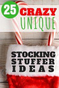 unique stocking stuffer pinterest pin