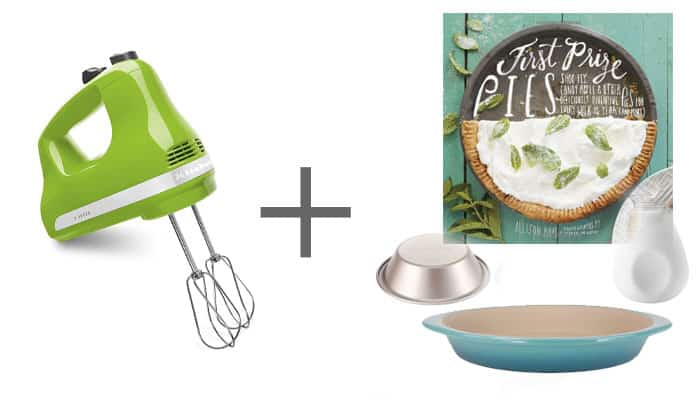 Wedding Gift Hand Mixer Pie Cookbook Pie Pans Mini Pie Pans