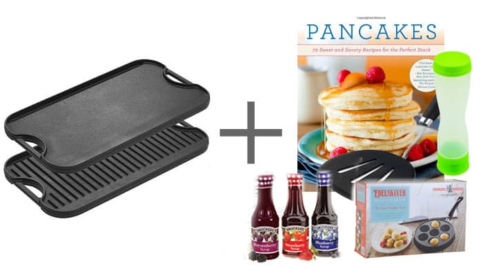 Wedding Gift Griddle Pancake Book Syrup Ebelskiver Pancake Pouring