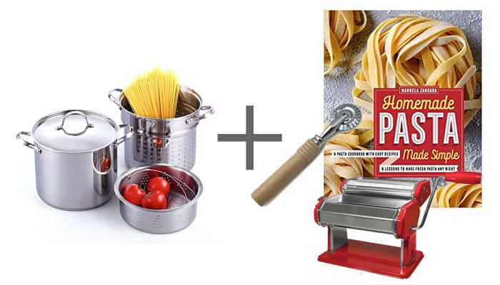 Wedding Gift Pasta Pots Pasta Cookbook Pasta roller
