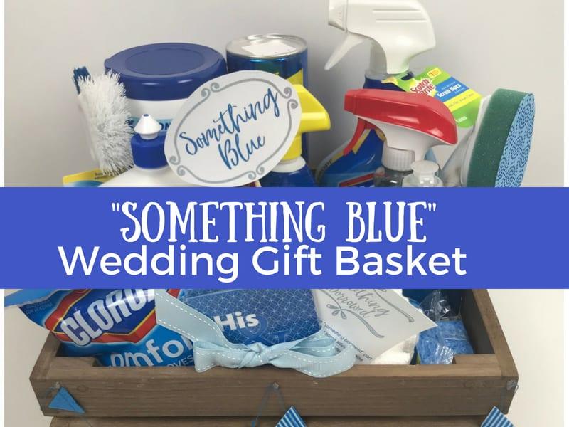Creative Bridal Shower Gift Basket Ideas: Something Borrowed, Something Blue!