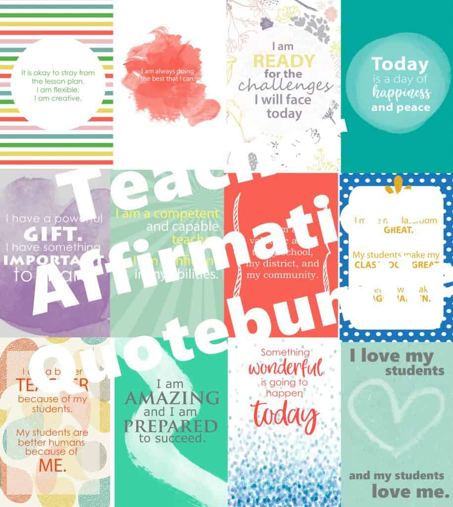 Teacher Affirmation Quotes
