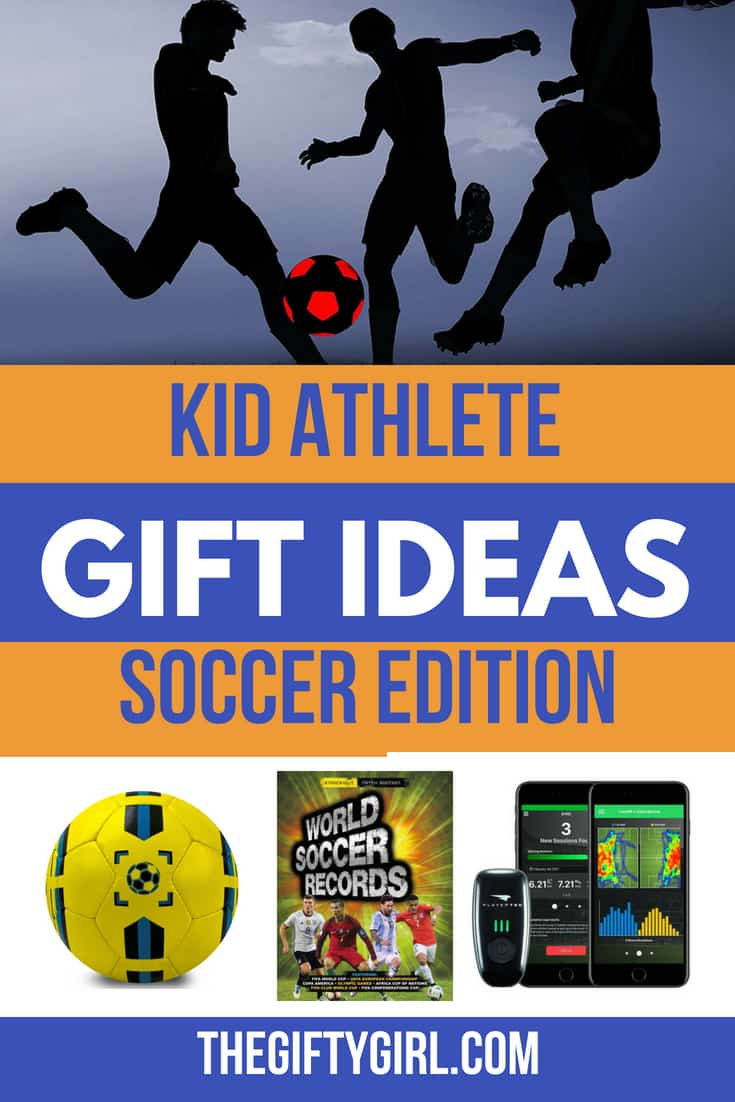 More than 20 gift ideas are great for kids who love to play soccer. These products will help kids develop their skills and have lots of fun!
