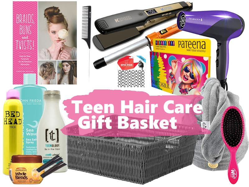 The best gifts for teenage girls are gifts that are fun and that they will use! These hair care products make a fun and unique gift for teenage girls. What are the best haircare products for teens? Find them in this gift idea post for teens