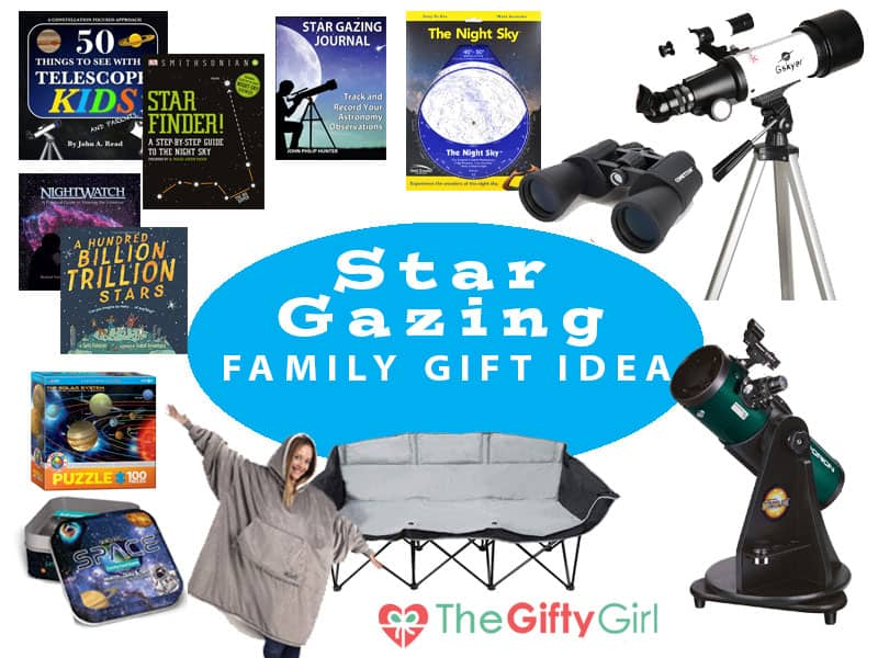 Family Stargazing Gift Basket