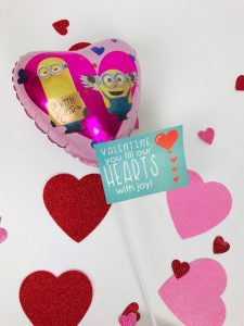 Valentine Balloon Free Printable Gift Tag, you fill our hearts with joy.