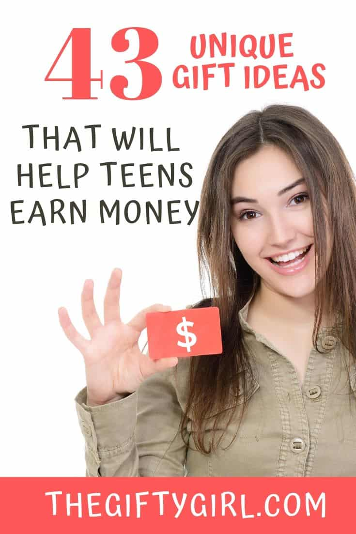 What are the Best Gifts for Teens? How about gift ideas for teens that they can use to make money! These are fun and unusual side hustle ideas for teens...they will have fun learning a new skill and making money doing it. Check out these gifts for teens that would be perfect for teen boys or teen girls!