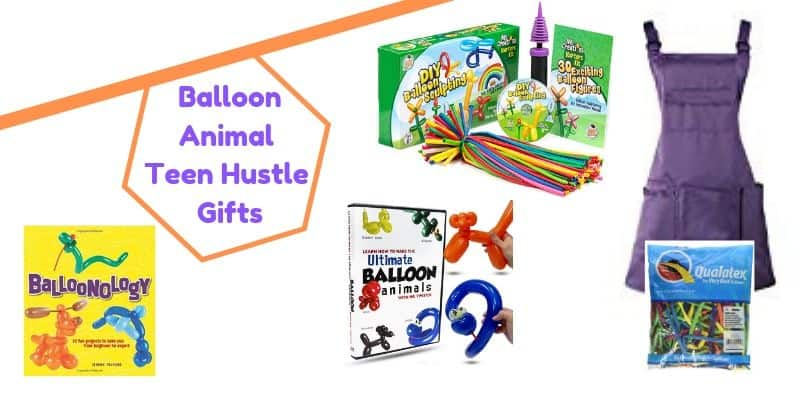Balloon Animal Making teen hustle gifts, Balloon Animal books