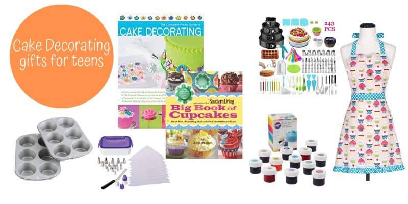 Cake Decorating, Apron, Cookbooks, cake decorating supplies