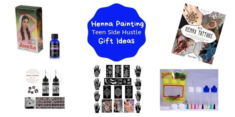 Henna Paintiing gifts , Teen Side Hustle, Henna supplies