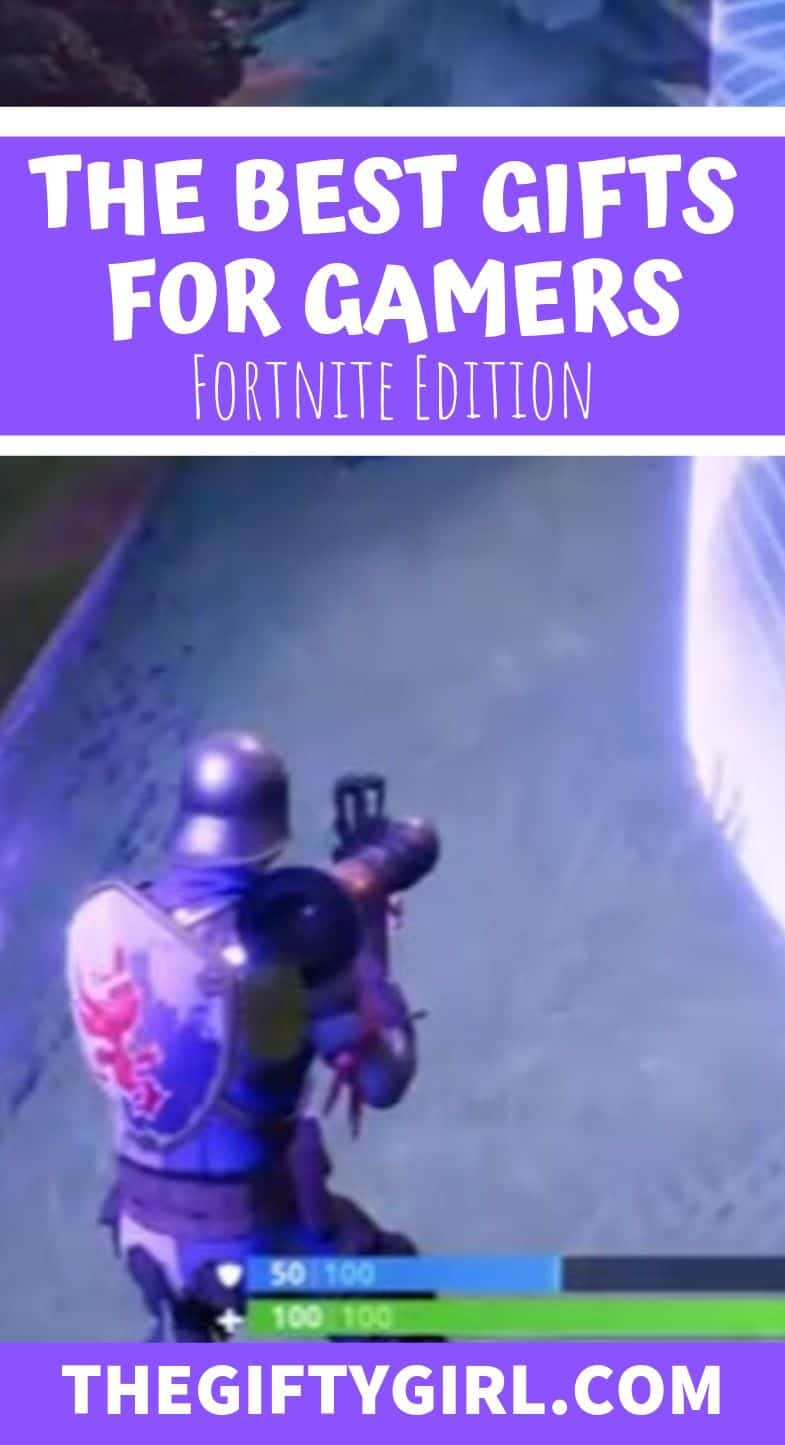 12 FANTASTIC Fortnite Gifts for Gamers. This gift guide is filled with gaming gifts for boyfriends, husbands, sons, teens who love to play fortnite.