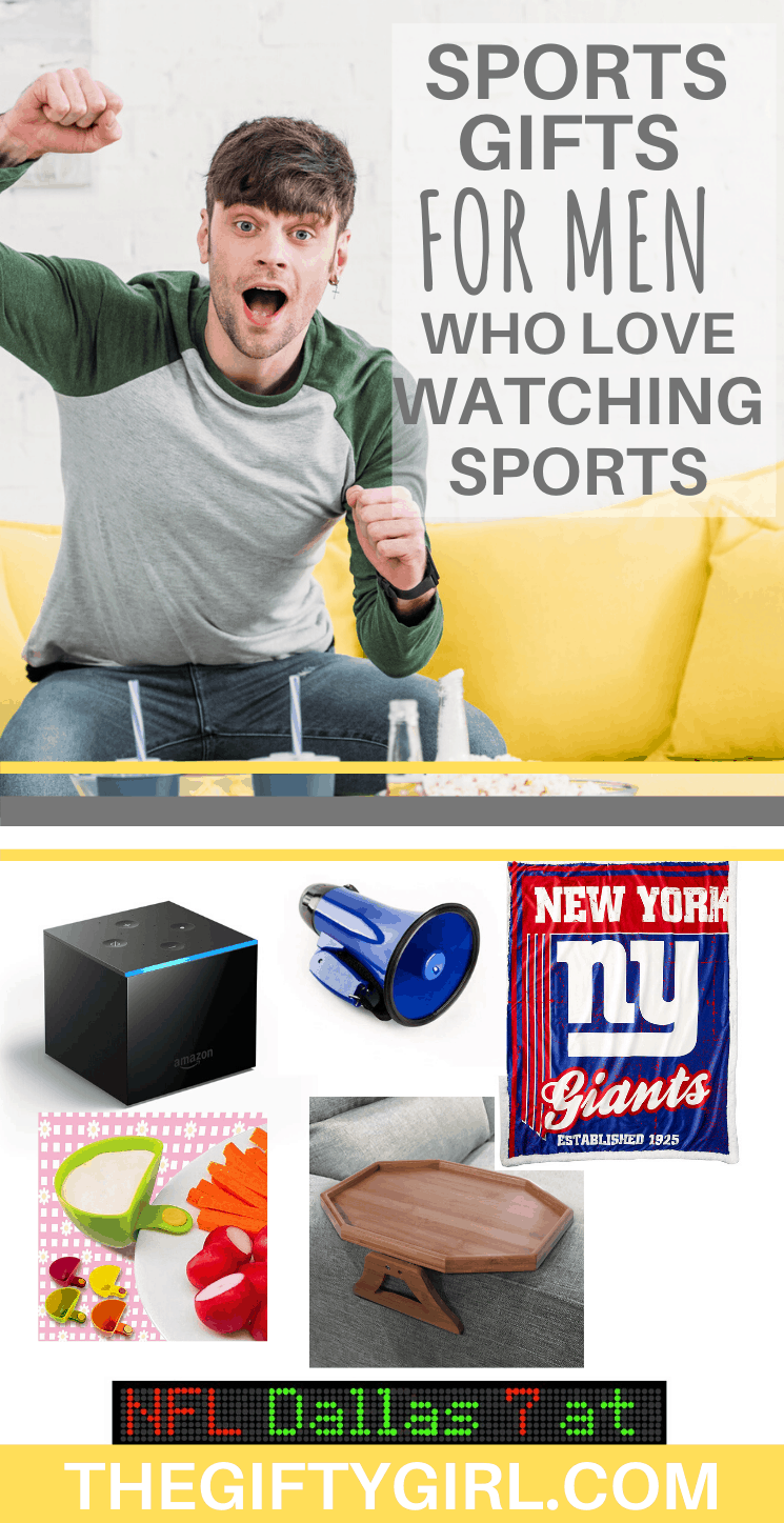 sports gifts for men who love to watch sports