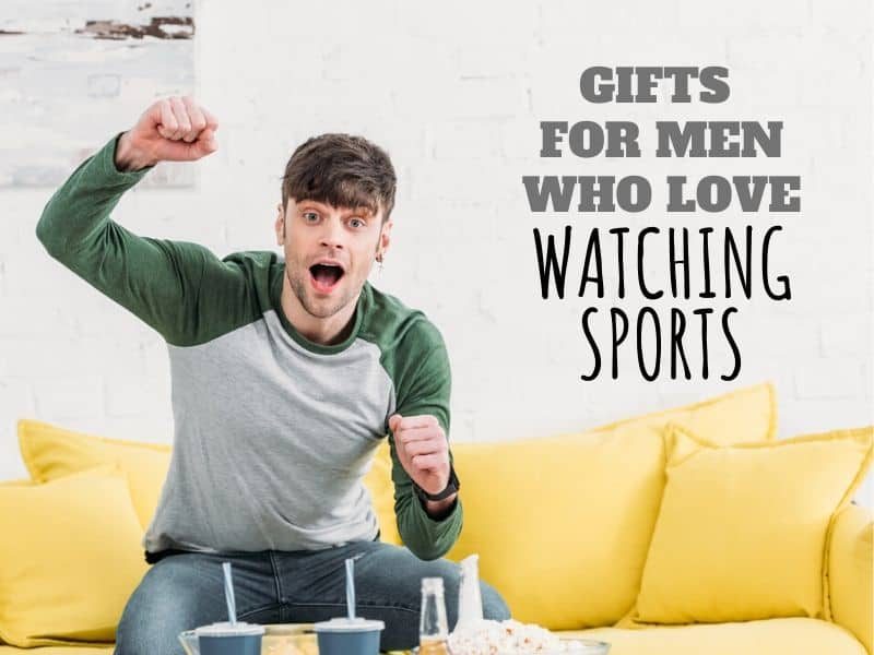 sports gifts for men who love watching sports