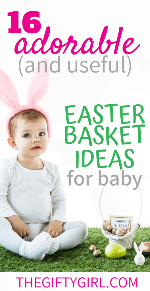 16 adorable easter basket ideas for baby