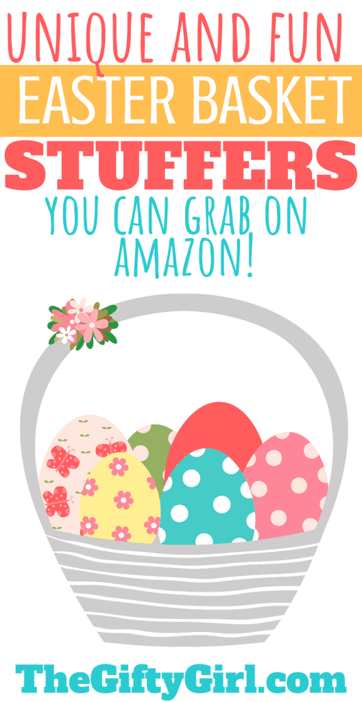 Creative Unique and Fun Easter Basket Suffers you can grab on Amazon (that kids and teens will love!)