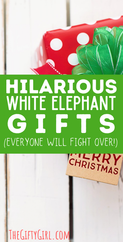If you have a white elephant gift exchange in your future, these 42 hilarious white elephant gift ideas $20 and under are amazing! From funny, useful, clever, classy and hilarious, you won't be embarrassed to give (or get!) these great white elephant gifts.