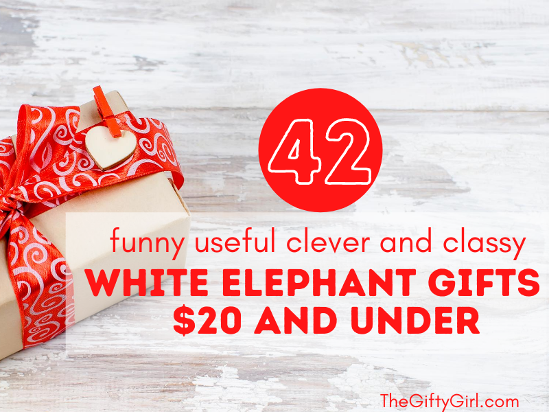 42 White Elephant Gifts $20 and under